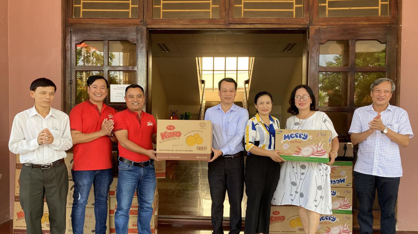 Richy chung tay góp sức ủng hộ nhân dân tỉnh Quảng Trị bị lũ lụt – Bánh kẹo  Richy